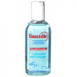 Cooper baccide gel main sans rinçage 75ml