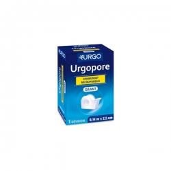 Urgo urgopore sparadrap 9,14 m x 2,5 cm dévidoir géant
