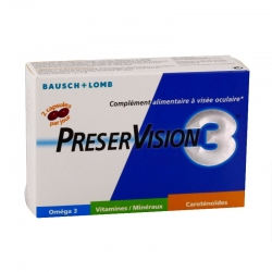 Bausch & lomb preservision 3 60 capsules