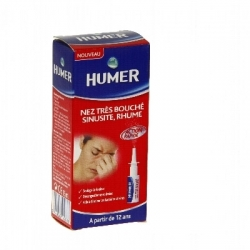 Humer nez très bouché sinusite rhume 15ml