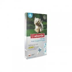 Bayer advantix petit chien 4 à 10 kg 6 pipettes