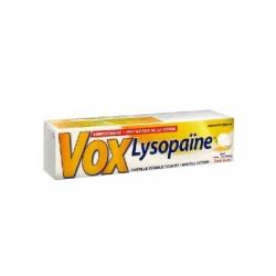Voxlysopaine goût citron 18 pastilles