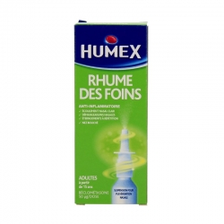 Humex rhume des foins à la beclometasone 1 flacon pulvérisateur de 100 doses