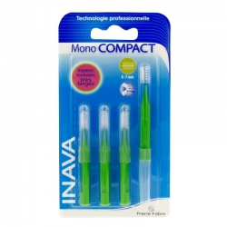 Inava mono compact rouge 4 brossettes