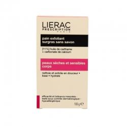 Lierac prescription pain exfoliant surgras sans savon 100 g