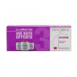 Oenobiol remodelant minceur lot 3 x 60 capsules dont 1 boite offerte