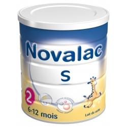Novalac satiété lait 2ème age 6 à 12 mois 800g
