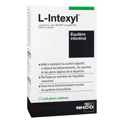 Nhco L-Intexyl Equilibre Intestinal 2 x 28 gélules