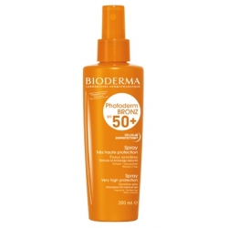 Bioderma photoderm bronz spray solaire spf 50+ 200ml