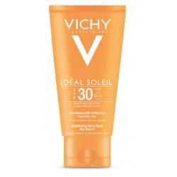 Vchy Idéal Soleil Emulsion Toucher Sec Visage IP30 50 ml