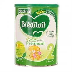 Blédina Blédilait Confort Premium 2ème Age 900g