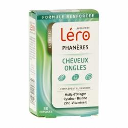Léro phaneres cheveux ongles 30 capsules