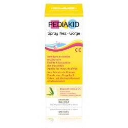 Ineldea Pediakid Spray Nez-Gorge 2 Embouts 20 ml
