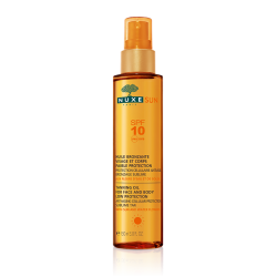Nuxe Sun huile bronzante visage et corps SPF10 spray 150ml