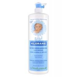 Klorane Bébé Lait de Toilette Protecteur Sans Rinçage 750 ml
