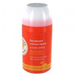 Laino déodorant bille minéral fraîcheur agrumes 50ml