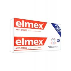 Elmex Dentifrice Protection Caries Lot de 2 x 125 ml