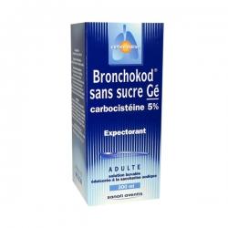 Bronchokod 5% sans sucre 250ml