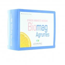 Biomag agrumes stress anxiété fatigue 90 comprimés