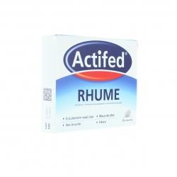 ACTIFED RHUME 15 COMPRIMES