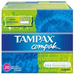 Tampax tampon compak super b/20