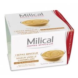 Milical coupelle vanille caramel x1