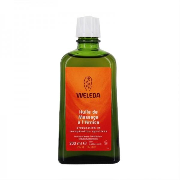 weleda huile de massage l 39 arnica 200ml pharmacie de l 39 iroise