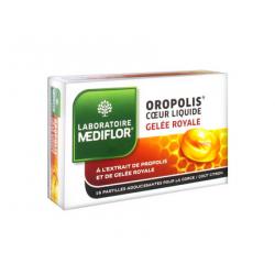 Mediflor Oropolis Pastilles Coeur Liquide Gelée Royale 16 pastilles