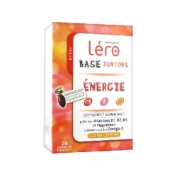 Léro base juniors energie 20 capsules