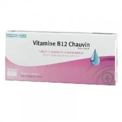 Vitamine b12 chauvin collyre 10 unidoses