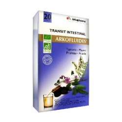 Arkopharma arkofluides transit intestinal 20 ampoules