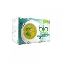 Nutrisanté infusion bio confort de la gorge 20 sachets