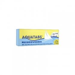 Aquatabs réservoirs 100 comprimés effervescents