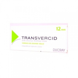 Transvercid 12mm 8 pansements