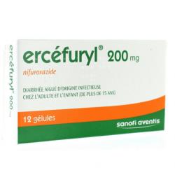 Ercefuryl 200mg 12 gélules