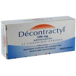 Decontractyl 500mg 24 comprimés