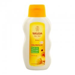 Weleda huile de massage douceur bébé au calendula 200ml