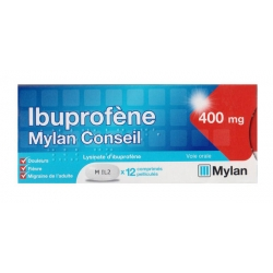 IBUPROFENE 400MG FLASH MYL CPR12