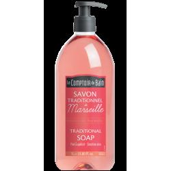 Le comptoir du bain savon de Marseille pamplemousse 1 L