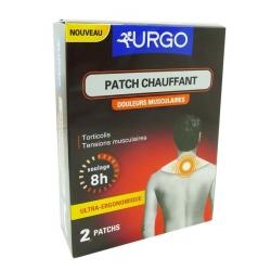 Urgo patch chauffant nuque x2