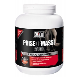 Eafit Construction Musculaire Saveur Vanille Whey Gainer 750 g