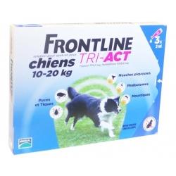 Mérial Frontline Tri-Act Chiens 10 à 20Kg 3x2ml