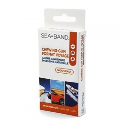 Sea band chewing-gum format voyage 24 chewing gum arome gingembre