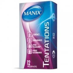 Manix tentations - promo 12 manix + 2 offerts