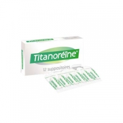 Titanoreine 12 suppositoires