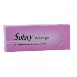 Solacy pédiatrique affections rhinopharyngées 60 comprimés