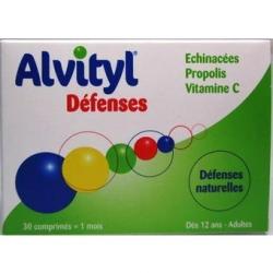 Urgo alvityl défenses 30 comprimés