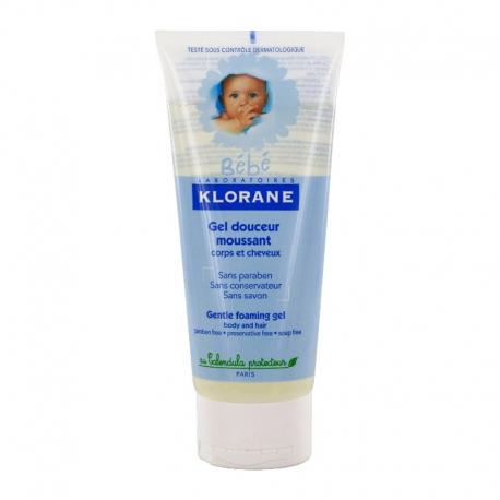 Klorane gel douceur moussant corps & cheveux 200ml