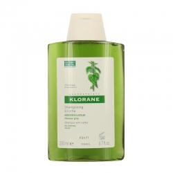 Klorane shampooing traitant séborégulateur à l'extrait d'ortie 200ml