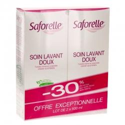 Saforelle soin lavant doux 500ml x2